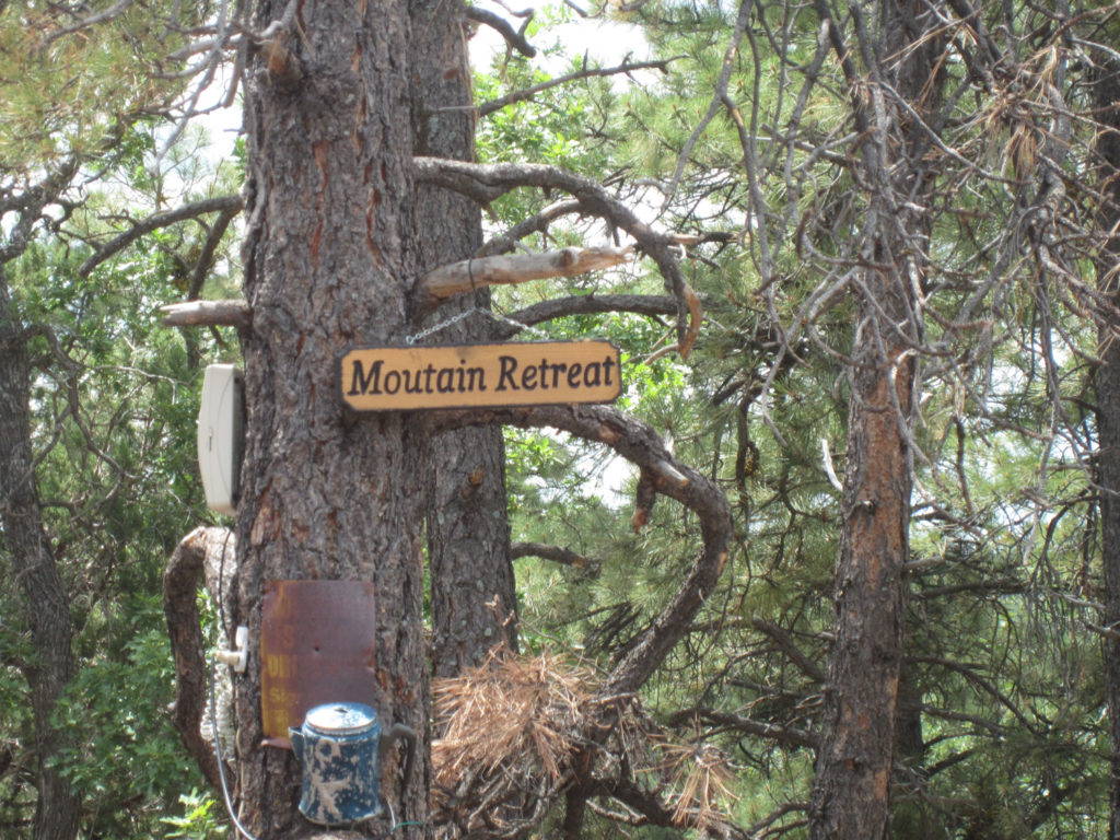 Signage at Crystal Point Picnic Area