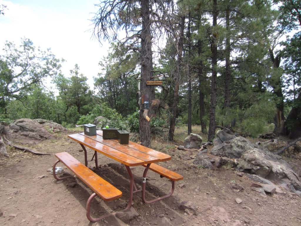 Picnic Area at Crystal Point