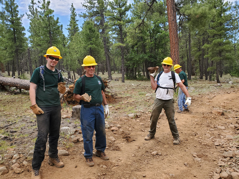 A happy rock haulin' crew on Rocky Road... July 7, 2019