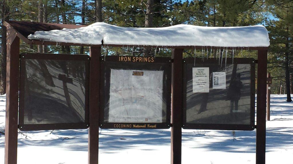 Iron Springs Trailhead