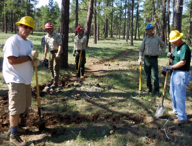 Brad's Trail Work Crew