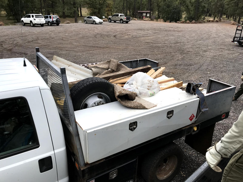 October Trash Pickup 2018