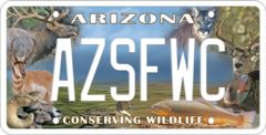 AZSFWC Specialty Plate