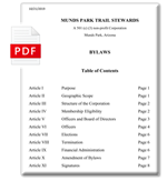 MUTS Bylaws Icon - View the bylaws in PDF format