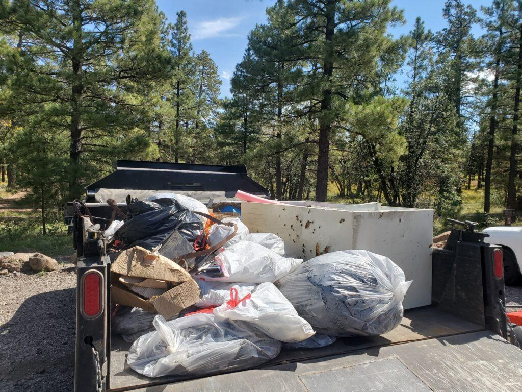 Trash pickup results - 10/2/21